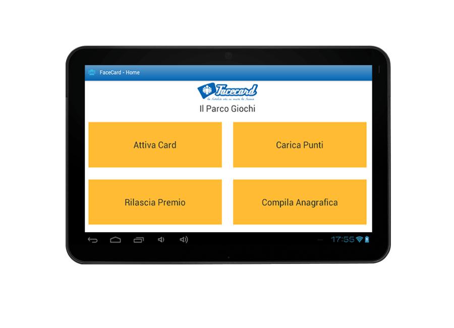 App mobile Facecard