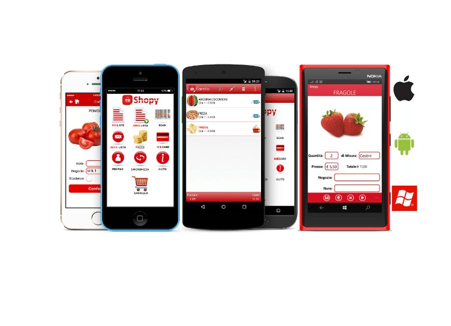 App mobile Shopy